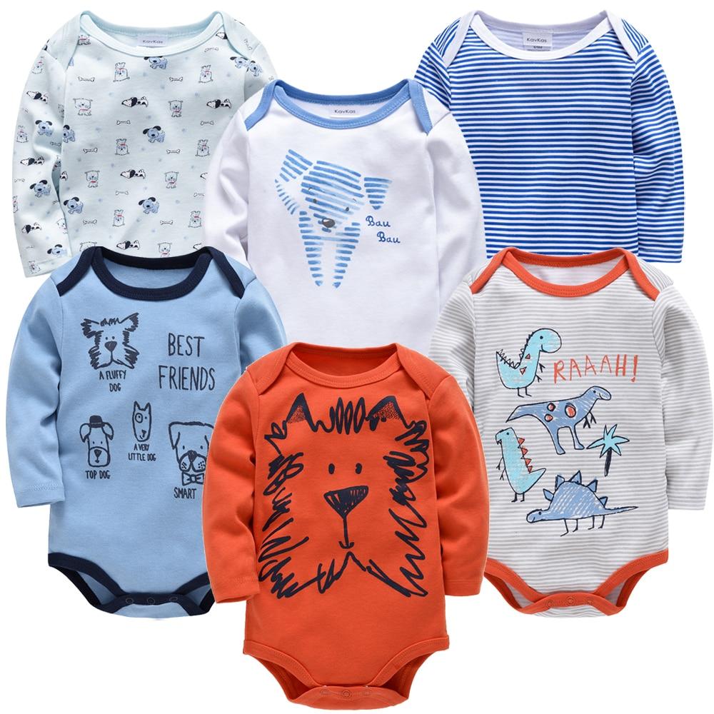 2019 Baby Bodysuit Long Sleeve Spring Autumn Girls Boys Clothes Body Bebe Cartoon Printed 0-24 Months Newborn Infant Outwear
