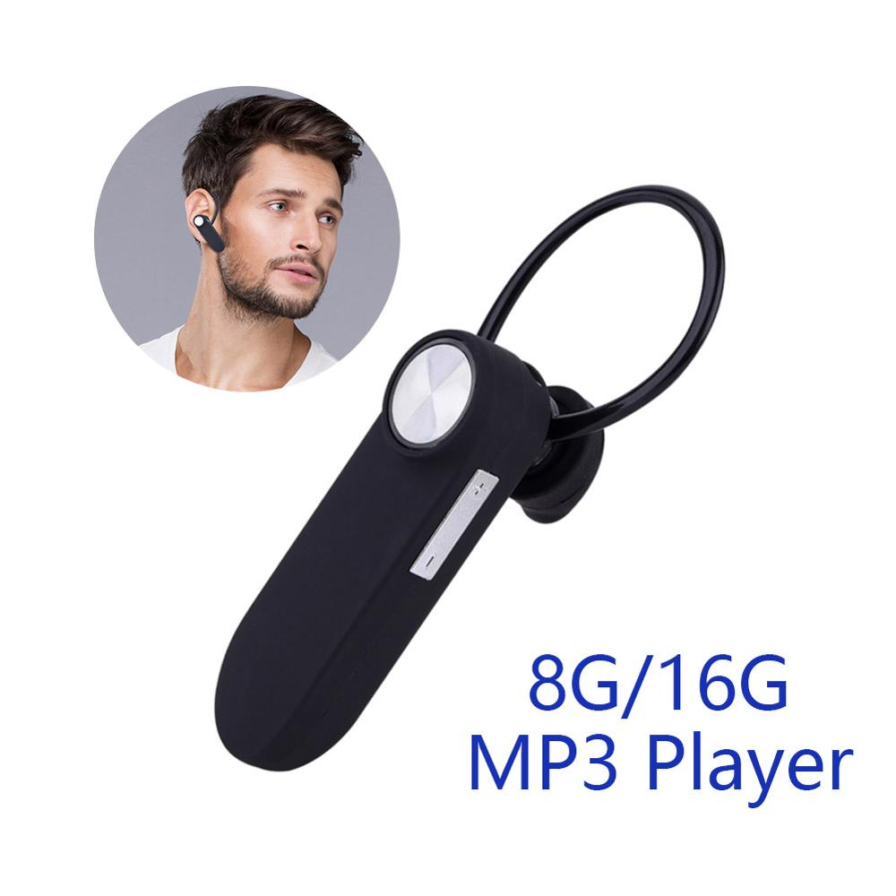 Portable MP3 Player Mini MP3 Player Bluetooth Sport Music Player Dictaphone 8GB/16GB Voice Recorder Digital Audio USB Flash