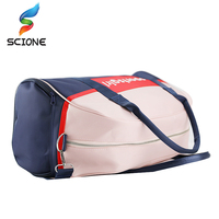 Hot Outdoor Luggage Bags Sports Gym Bag For Women Waterproof Foldable Fitness Training Shoulder Bag Large Tourist Travel Handbag 2