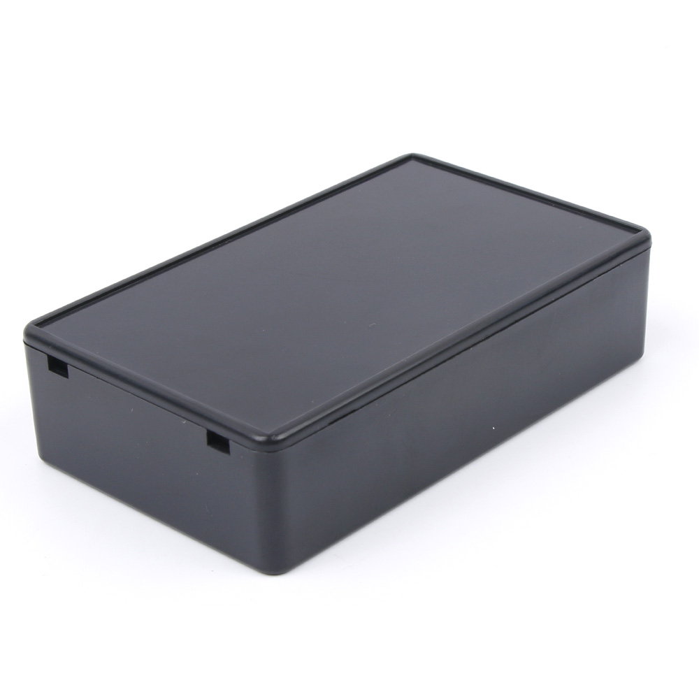 100x60x25mm Waterproof Black Diy Housing Instrument Case Plastic Electronic Project Box Electric Supplies High Standard In Quality And Hygiene