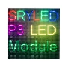 Indoor P3 Led Display Module Panel RGB Full Kleur 64x64 dots Led Matrix Voor Digitale Klok 1/32 Scan