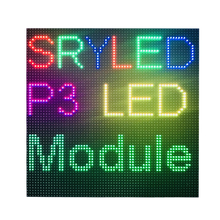 P3 interna Display A Led Pannello del Modulo di RGB di Colore Completo 64x64 dots Matrice di Led Per Orologio Digitale 1/32 di Scansione