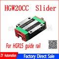 HGW20CC HGW20CA schiebe spiel verwendung HGR20 linear guide breite 20mm für CNC router-in Linearführungen aus Heimwerkerbedarf bei