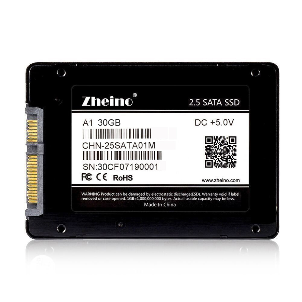 Zheino 2.5 Inch SATA 30GB 32GB 60GB 64GB 120GB 128GB 240GB 256GB SSD Internal Solid State Drive SATA3 HARD DRIVE For PC Laptop 22x42mm kingspec 60gb 120gb m 2 solid state drive ngff m 2 interface ssd pcie mlc for lenovo thinkpad hp asus laptop notebook