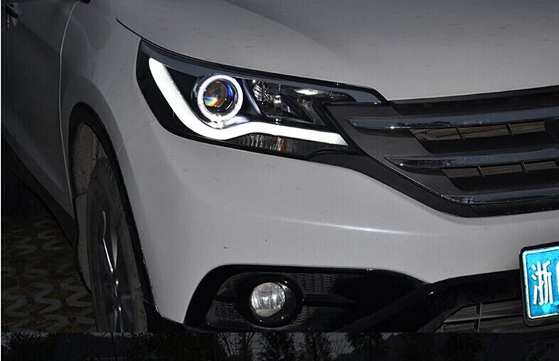 How To Adjust Headlights >> car accessories tuning led headlight for Honda CRV 2008 ...