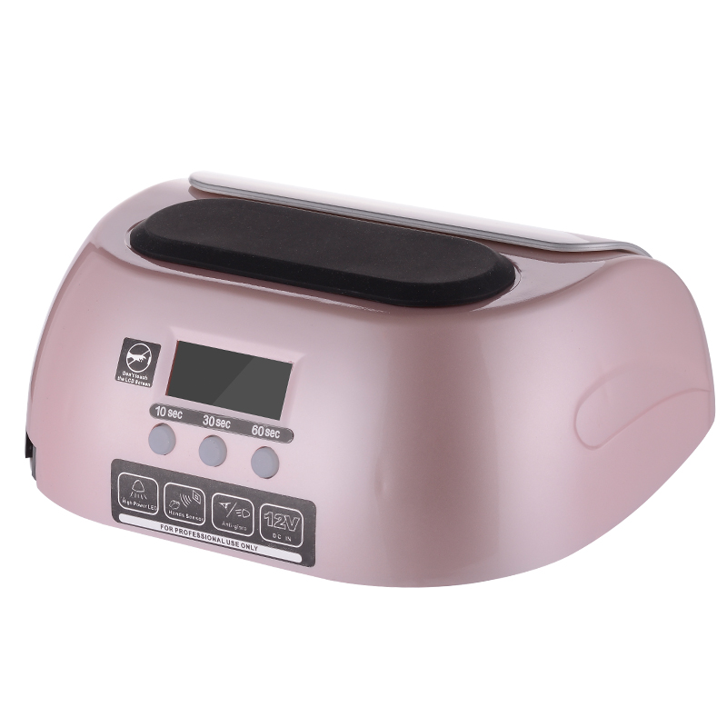 ФОТО Free shipping LG Professional 48W LED UV Lamp for nails,Nail Dryer with Automatic Induction Nail tools