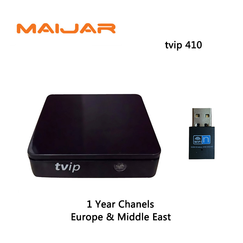 1Year IPTV Channels Subcription Europe Middel East Arabic Iptv Tvip410 V.410 H.265 Portal Stalker Work Same as 250 254 256
