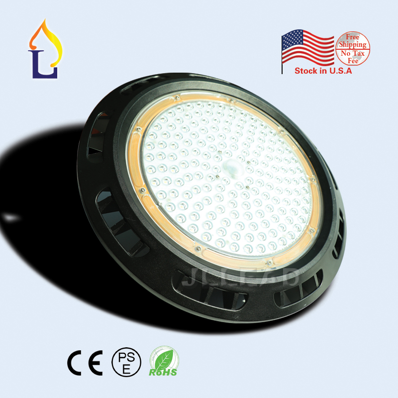 1pcs/lot led UFO high bay light 100W 150W 200W Industrial light led light ip65 AC100-277V outdoor lighting led stock in USA 1pcs 50w 100w 150w led high bay light 150w led industrial lamp for sewing machine light factory warehouse stadium workshop