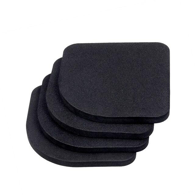 4pcs/set Quality Bathroom Mat Bathroom Carpet Pads Bathroom Set Carpet Anti-vibration Pad  Bathroom Carpet Bath Mat 2