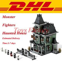 2016 LEPIN 16007 2141Pcs Monster Fighters Haunted House Model Building Kits Minifigure Blocks Bricks Toy Compatible With 10228