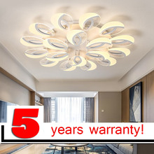 LOFAHS Modern LED ceiling lights for living  dining room bedroom  with remote control eye acrylic ceiling lamp fixtures