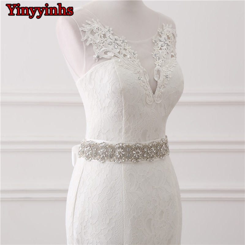 In Stock Real Photos Wedding Gown White Lace Cheap Mermaid Wedding Dress 2018 Vestido De Noiva SweepTrain Bridal Gowns GHS01 6