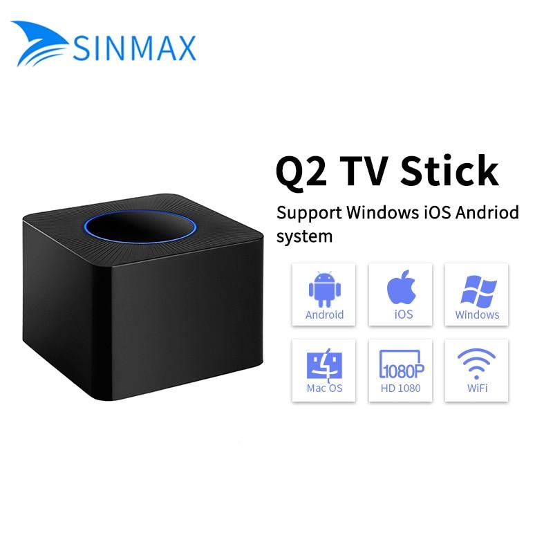 все цены на Dual wifi display mirror TV dongle AV+HD output TV stick Miracast /Airplay /Dnla for Android ios windows car vs chromecast tuner