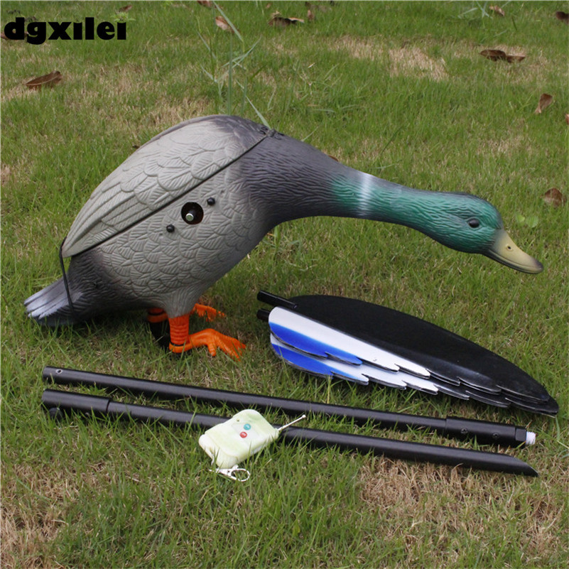 2016 Speed Control Spinning-Wings Decoy For Hunting Motorized Plastic Duck Hunting With Japan Motor From China Manufacurer