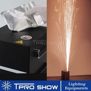 Image 5 - Máquina de pó de titânio para casamento, pó de ignição frio de 400w 600w para máquina de pirotécnica de fogos de artifício de artifício de prata de fogos de artifício 200 g/saco