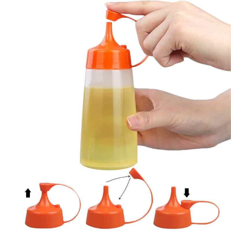 180 мл/300 мл/400 мл приправы бутылки Пластик салата бутыль острый сопла Малый масла бутылки, кухонные принадлежности