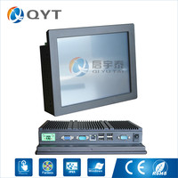 Industrial Pc Inter N2800 1 86GHz With 2RS232 4USB 10 Touch Screen Embedded Panel Pc 2GB