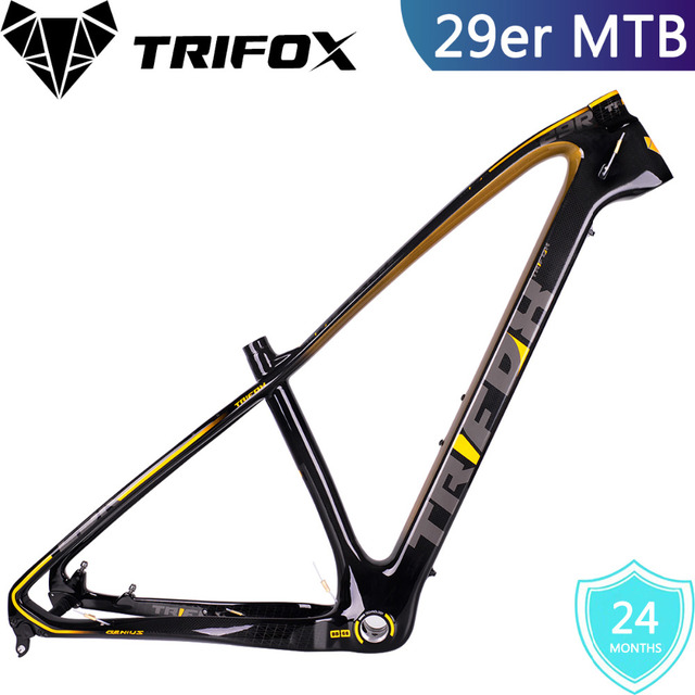 4a604a4bbfd Cheap TRIFOX 29er carbon mtb frame 3K armor bicycle 29 carbon 31.6mm carbon  seat frame