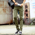 Camouflage Real Sweatpants Army 2016 Men Pants Pantalones New Winter Men's Casual Slim Feet Stretch 3 Color Options Y605-p42