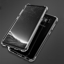 Super antidétonantes Étui De Protection Complet Pour Samsung S9 S8 Note 9 8 5 4 Housse A3 A5 A7 J3 J5 J7 Pro 2017 A6 A8 Plus 2018(China)