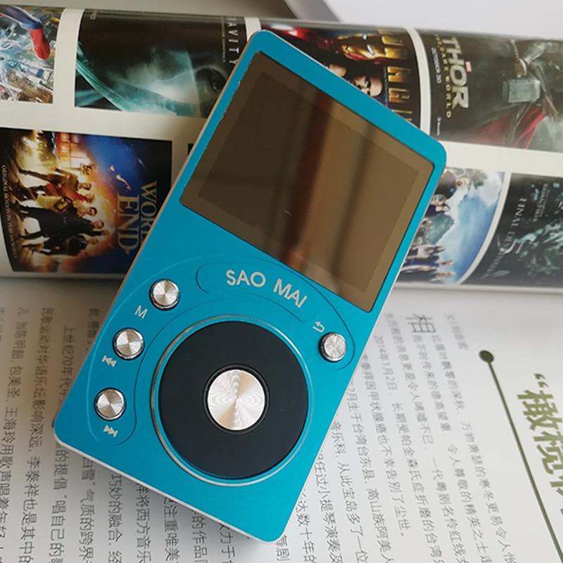 SaoMai SM4 8G High Resolution DAC Lossless Portable MP3 Player DSD Portable HIFI Music Player With HIFI Headphone Amplifier
