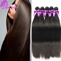 8a Virgin Silk Straight Hair Real Chinese Straight Virgin Hair Natural Human Hair Extension Cheap Weave 4bundles Straight Hair
