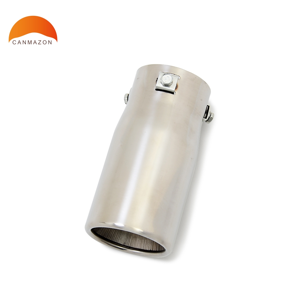 For Mazda 3 M3 2004 2011 Stainless Steel Car Rear Exhaust Pipe Tail Muffler Tip Automobiles Tail Throat Exhause Auto Accessory