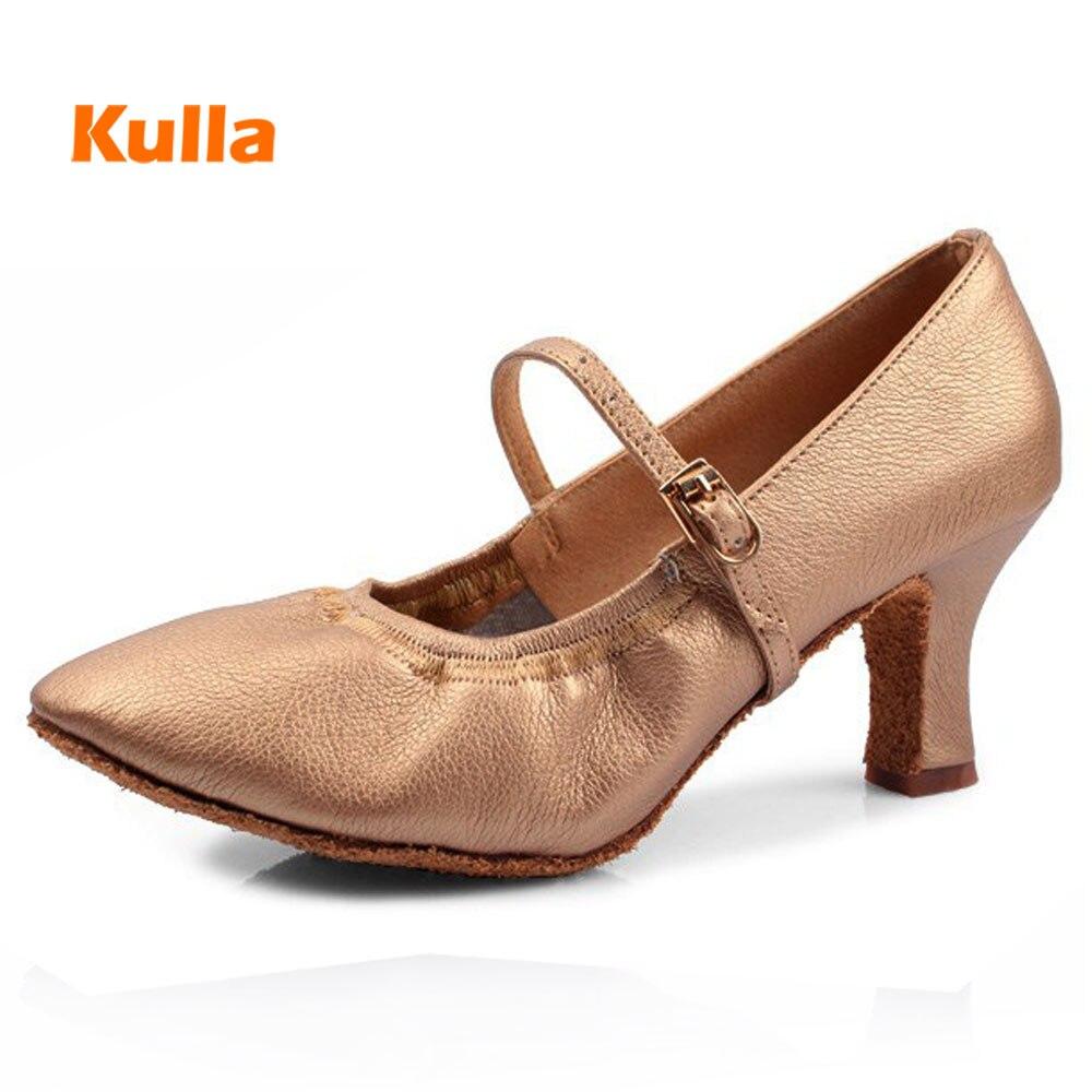Adultos Dancing Shoes For Women Ladys Girls Ballroom Salsa Shoes Tango Tap Modern Jazz Dance Shoes 5/7cm Heels Female Shoes 41