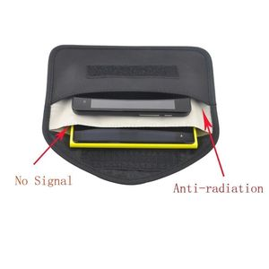 Image 3 - 6 Inch GSM 3G 4G LTE GPS RF RFID Signal Blocking Bag Anti Radiation Signal Shielding Pouch Wallet Case for Cell Phone