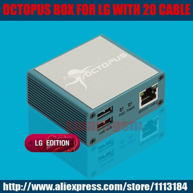La boîte de Poulpe d'origine pour LG Activé + 20 câbles pour nouveau P705 et P705F & P705G & P705GO & P700