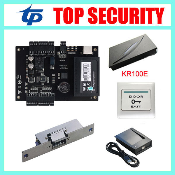 proximity card door access control system linux system time attendance and access control terminal anti-back function 2 4 lcd door access control attendance system