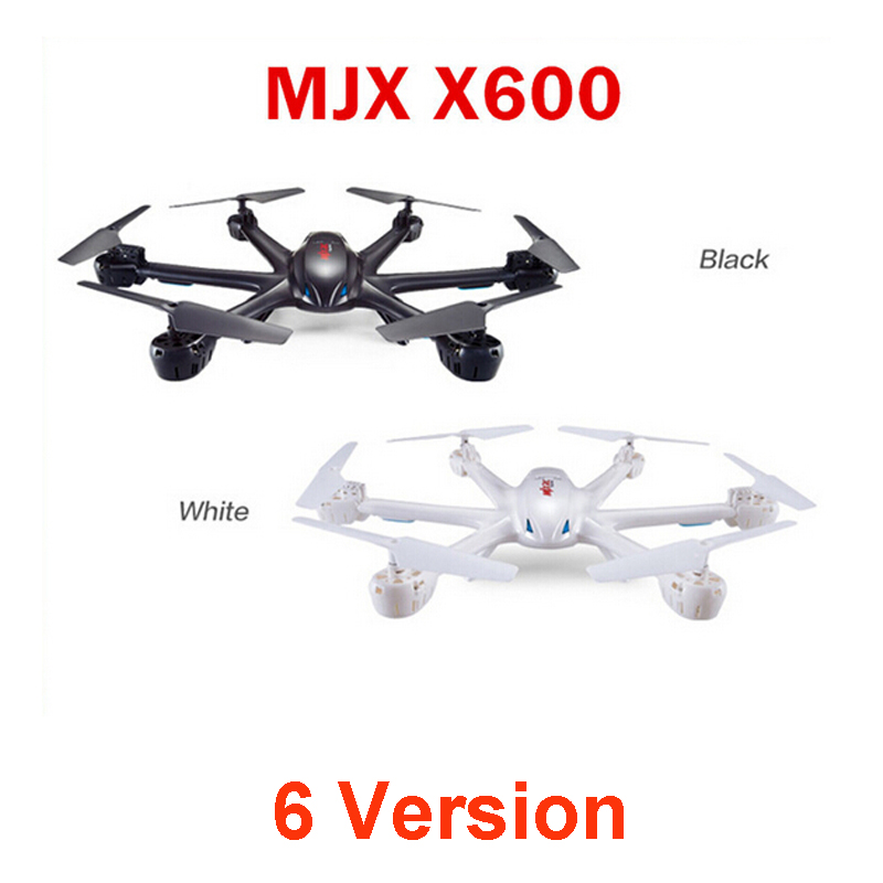 Original MJX X600 with C4005 Or C4008 Camera 6-Axis Gyro Headless Mode One Key Return WIFI FPV RC Quadcopter RTF q929 mini drone headless mode ddrones 6 axis gyro quadrocopter 2 4ghz 4ch dron one key return rc helicopter aircraft toys