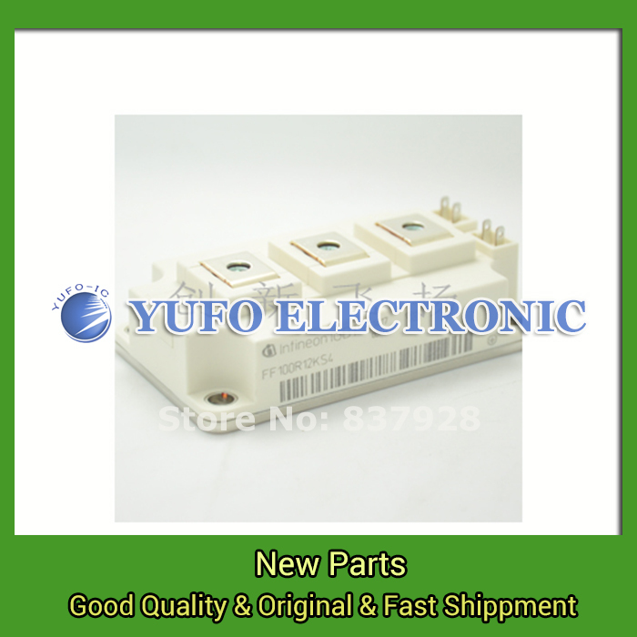 1PCS  FF100R12KS4 Power Modules original new supply advantages  captured YF0617 Relays ff100r12ks4