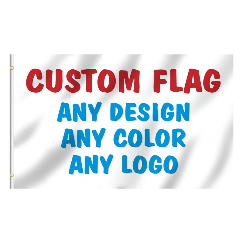 Digital Printing Custom Flags Sports Game Music Rock Band Brand Professional Designer Any Design All colors Custom-made Banner