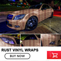 OPLARE Rust Car Wrap Film Vinyl Sheets Stickerbomb Printed Rust Sticker For Vehicel Styling Decal Stickers