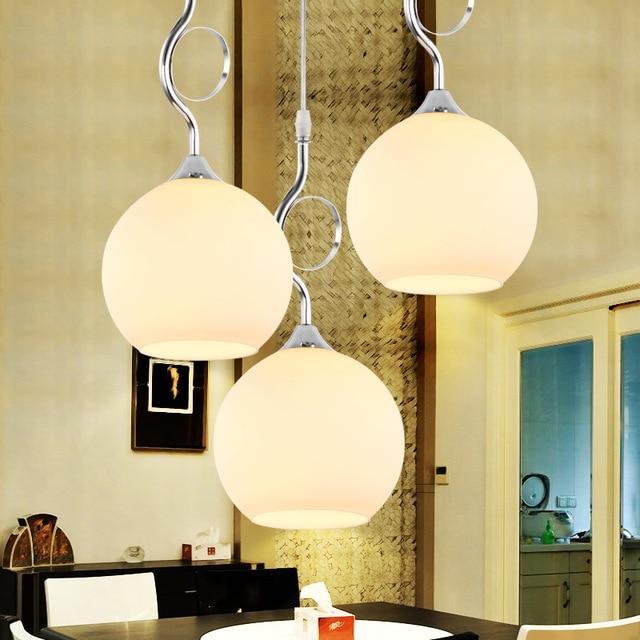 Modernas luces colgantes para comedor cocina tienda - Iluminacion para cocina comedor ...