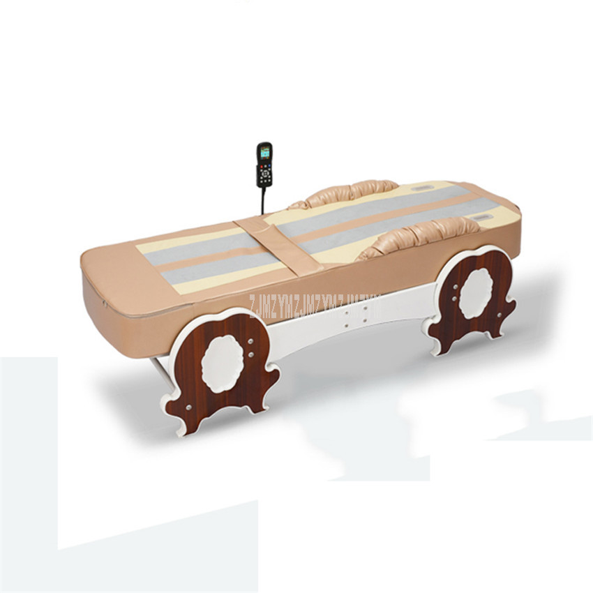 Multifunctional 12+1 Mode Hot Jade Physical Therapy Thermotherapy Bed Orbital Jade Infrared Vibration Body Health Massage Bed