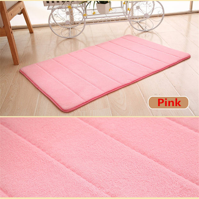 40 60cm Bath Mat Bathroom Carpet Water Absorption Rug Gy Memory Foam Set Kitchen Door Floor Tapis Salle De Bain