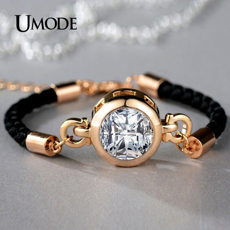 font b UMODE b font Chain Link font b Bracelets b font Brand Fashion Jewelry
