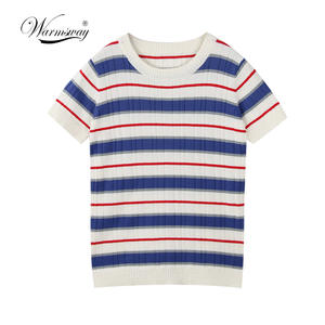 9d021cb87 WARMSWAY 2018 T-shirts For Women T Shirt Female Top Tee