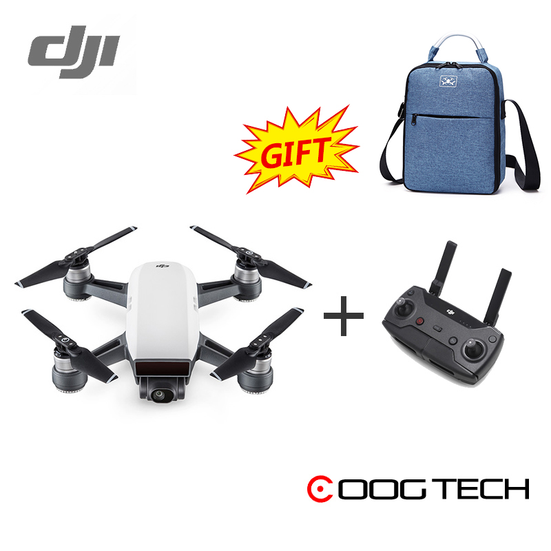 In Stock! DJI Spark pocket mini camera drone rc helicopter quadcopter (not fly more combo version) mini drone rc helicopter quadrocopter headless model drons remote control toys for kids dron copter vs jjrc h36 rc drone hobbies