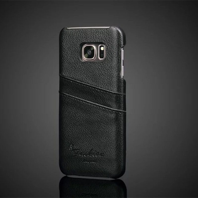 b36c58aeaeb For Samsung Galaxy S7 Case S7EDGE Cover Luxury Cowhide Wallet Card Slots  Soft Back Capa For Samsung Galaxy S7 edge Cases Fundas