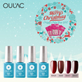 Fashion Colors K012 K048 K027 K017 Gel Nail Polish Oulac Charming Red Colors