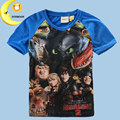 New baby kids boys clothes how to train your dragon t shirt summer tops tees short sleeve children's t-shirt casual boy clothing