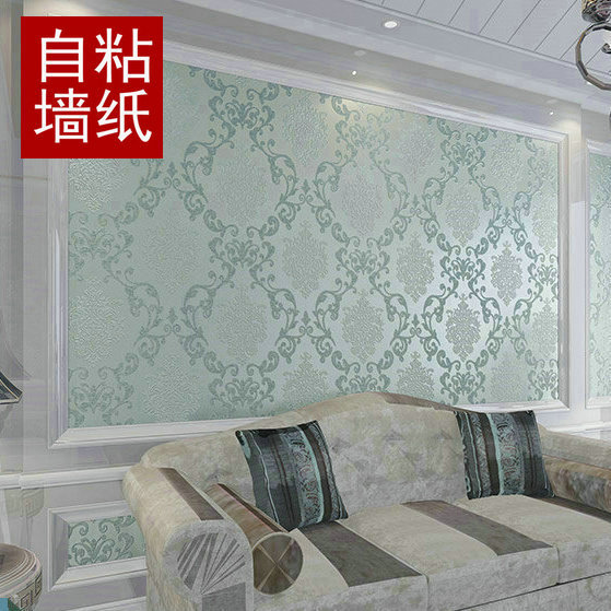 Vinyl Wallpapers for walls Rustic TV background  Damask European wall paper roll papel de parede 3 colors free shipping beibehang europea vinyl thickening white brick wallpaper for wall rustic tv background brick wall paper rolls papel de parede 3d