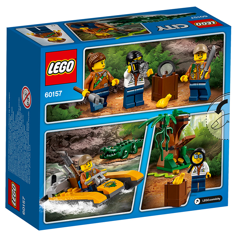 LEGO High City Series 60157 Jungle Entry Set LEGO CITY Building ...