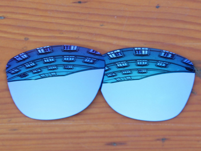 Polycarbonate-Ice Blue Mirror Replacement Lenses For Frogskins Sunglasses Frame 100% UVA & UVB Protection