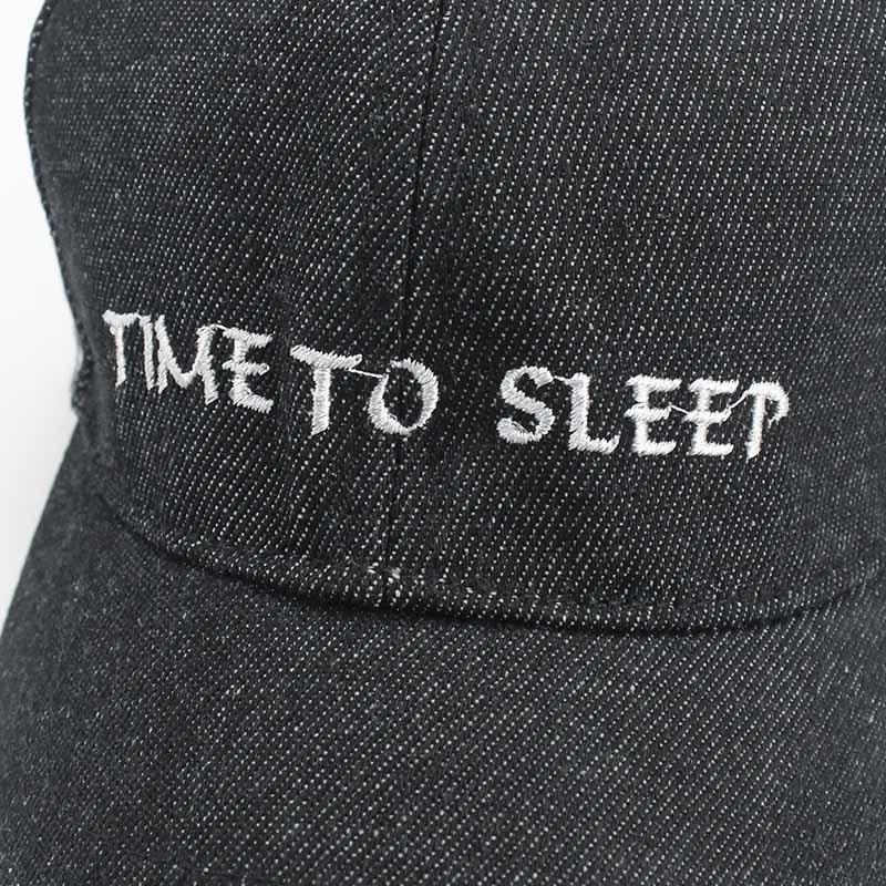 New Girl Boy Letter Embroidery Time to Sleep Children Baseball Cap Hat Kids Adjustable Snap Hats Summer Sun Hat Bones Masculino