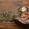 Embroidery Lace Baby Photography Props Fringe Layer Newborn Photography Wraps Handmade Lace Scarf Baby Photo Props Accessories