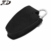 Genuine Leather Car Key Cover Shell Wallet For Mercedes B C E S GLK300 R350L C180